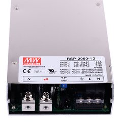 "Блок питания Mean Well RSP-2000-12 (1200W; 100A; 12V; IP20) Series ""RSP"" 622015"